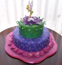 Tinkerbell Cake 10 And 6 Cakes Topper Is Not Edible It Flickr
