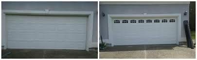 cascade garage doorBefore And After  Precision Garage Door