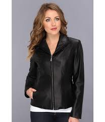 upc 700291249132 image for cole haan lamb leather zip front jacket black