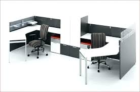office desk cubicle. Small Office Desk Cubicle L Shaped White Computer Furniture Home Chair