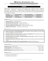 Rn Resume Builder Simple Resume