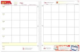 Student Monthly Calendar Template Kennyyoung