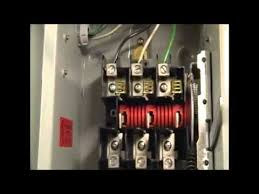 wiring in a new disconnect switch youtube Single Phase Motor Wiring Schematic at Single Phase 220v 30 Amp Wiring Diagram