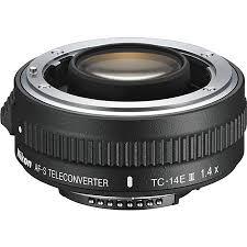 Used Nikon Af S Tc 14e Iii 1 4x Teleconverter For F Mount Lenses D