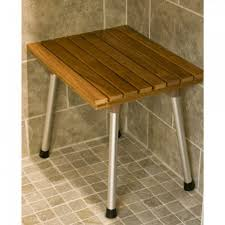 medium size of bench teak corner shower bench teak shower stools and benches fold down