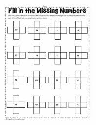 Pieces Of The 100 Chart Worksheets