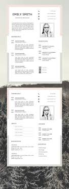 Instant Resume Templates Magnificent Professional Resume Template Resume Instant Download 48 Page Resume