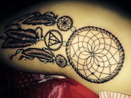 Meaning Of Dream Catcher Tattoos Dream Catcher Tattoo On Thigh Meaning Tattoo Ideas 87