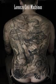 Evil Machines Tattoo Il Tatuaggio Realistico A Roma