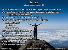 success and failure made simple by michael josephson what will  success poem bessie stanley