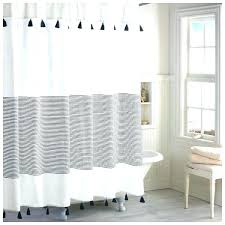 blue and white striped shower curtain gray and white striped shower curtain blue and white striped