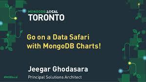 Mongodb Charts Pricing Mongodb Local Toronto 2019 Go On A Data Safari With