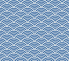 Japanese Wave Pattern Extraordinary Japanese Wave Pattern Stock Vector © MichikoDesign 48