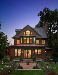 Designing A New Shingle Style House With Classic Old Style Photos Shingle Style Home Drive Court To Entry Elevation Victorian Exterior Burlington