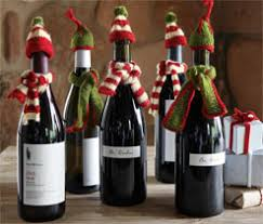 How To Decorate A Wine Bottle For Christmas Wine Bottle Christmas Decorations 100 Nectar Tasting Room and Wine 11
