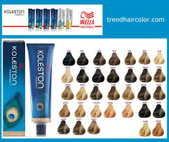 Wella Koleston Color Chart Wellaton Koleston Hair Color