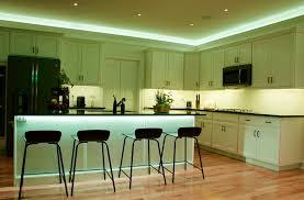 lighting in a kitchen. Atmospheric Lighting With Loxone In A Kitchen
