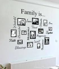 family wall art stunning picture frames with additional decorative tiles for wood tree family wall art