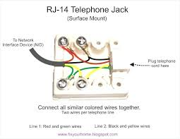 wall mount phone jack simple telephone wiring diagram fresh telephrame cover