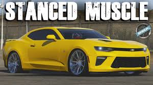 STANCED MUSCLE! - 2016 Camaro SS & 2007 GT500 || STANCE BUILD ...