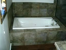 garden tub wer combo the tile man tubs and wers mobile home around shower custom
