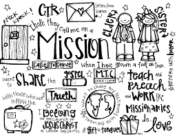 Small Picture Melonheadz LDS illustrating Missionaries Handout