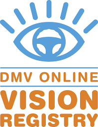 department of motor vehicles logo. Plain Department DMV Online Vision Registry And Department Of Motor Vehicles Logo A