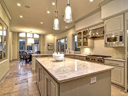 Limestone Floors In Kitchen Traditional Kitchen With Breakfast Nook L Shaped In Austin Tx