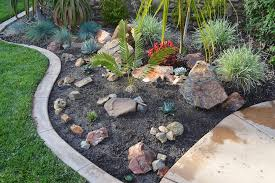 simple rock garden design decoration