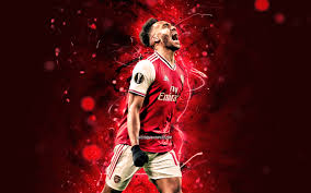 Enjoy and share your favorite beautiful hd wallpapers and background images. Download Wallpapers Pierre Emerick Aubameyang 2020 Arsenal Fc Gabonese Footballers Red Neon Lights Pierre Emerick Emiliano Francois Aubameyang Soccer Goal Premier League Football The Gunners For Desktop With Resolution 2880x1800 High Quality