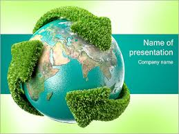 Recycling Earth Powerpoint Template Infographics Slides