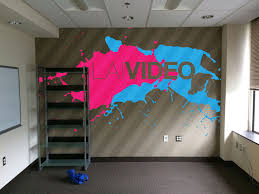 lai video office wall mural james favata library wall