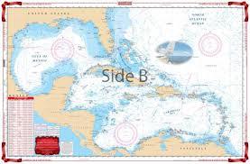 Waterproof Charts Caribbean Sea Gulf Of Mexico Nautical Marine Charts