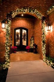 entry home decor porch traditional with holiday decor exterior