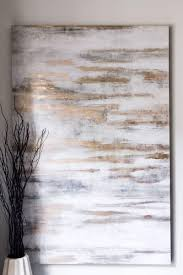 Home Sweet Home - The Chriselle Factor: I also love this texture painting  from Z Gallerie. Hanging your paintings high is a great way to add height  to a ...