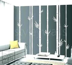 bamboo wall art decor marvelous decal tree com for decoration ideas diy d bamboo wall art