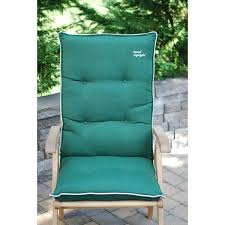High Back Patio Chair Cushion Set of 2 Free Shipping Today