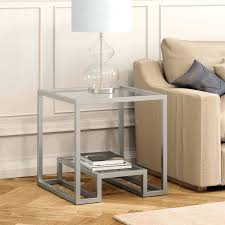 Wonderful Silver Side Table With Drawer Storage Tables Australia In