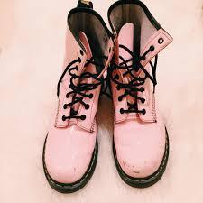 Light Pink Doc Martens Rare Light Baby Pale Pink Doc Martens I Dont Even Depop
