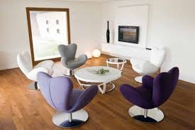 Upholstered Swivel Living Room Chairs Modern Chairs For Living Room