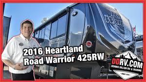 2016 heartland road warrior 425 ddrv