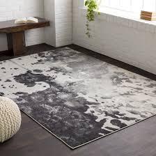 grey black rug roselawnlutheran t austin designu0026reg aberdine black light gray area rug
