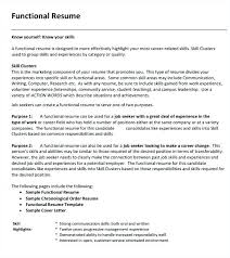 Resume Functional Summary Examples Professional Summary Resume ...