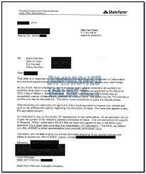 Diminished Value Claim Letter Articleezinedirectory