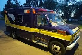 there s a vikings ambulance on craigslist daily norseman taken from craigslist