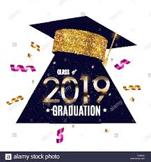 Congratulations For Graduation Congratulations On Graduation 2019 Class Background Vector