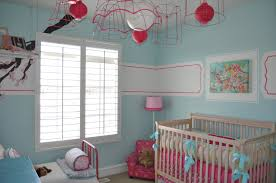 Small Picture Baby Nursery Lovely Baby Room Ideas With Blue Wall Paint Sweet