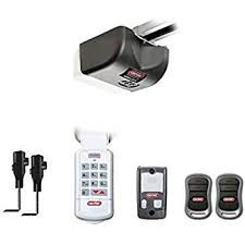 genie garage door opener 2028 2tx reliag 850 proseries ½ hpc power dc motor system with soft start stop 2 g3t remote wireless keypad safety beams