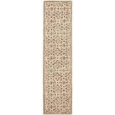 cambridge tan multi 3 ft x 22 ft runner rug