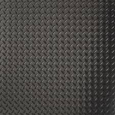 g floor diamond tread 7 5 ft x 17 ft midnight black commercial grade